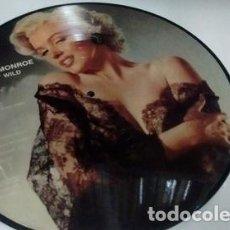 Discos de vinilo: VINILO DINAMARCA MARILYN MONROE RUNNIN WILD PICTURE DISCO. Lote 289156028