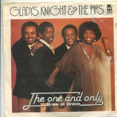 Discos de vinilo: GLADYS KNIGHT & THE PIPS / THE ONE AND ONLY / PIPE DREAMS (SINGLE BUDDAH 1978). Lote 289197823