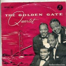 Discos de vinilo: THE GOLDEN GATE QUARTET / BUEBERRY HILLS + 3 (EP COLUMBIA NORUEGO). Lote 289198403