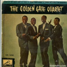 Discos de vinilo: THE GOLDEN GATE QUARTET / LULA + 3 (EP LA VOZ DE SU AMO 1960). Lote 289198468