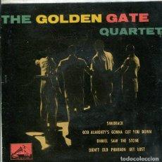 Discos de vinilo: THE GOLDEN GATE QUARTET / SHADRACK + 3 (EP LA VOZ DE SU AMO 1960). Lote 289198533