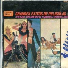 Discos de vinilo: GRANDE EXITOS DE PELICULAS 5 (VARIOS) EP UNITED ARTISTS 1966). Lote 289198873