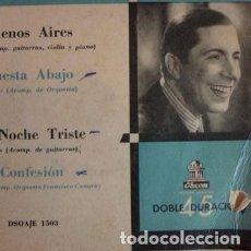 Discos de vinilo: CARLOS GARDEL VOL1 VINILO SIMPLE. Lote 289191798