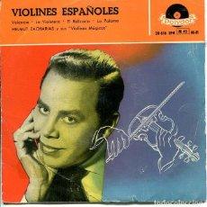 Discos de vinilo: HELMUT ZACHARIAS / VALENCIA + 3 (EP POLYDOR 1958). Lote 289200333