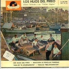 Discos de vinilo: HELMUT ZACHARIAS / LOS HIJOS DEL PIREO + 3 (EP POLYDOR 1960). Lote 289200363