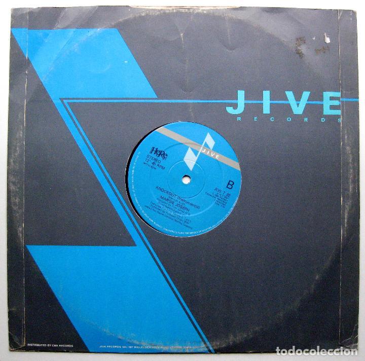 Discos de vinilo: Margie Joseph - Knockout - Maxi Jive 1983 UK BPY - Foto 2 - 289202598