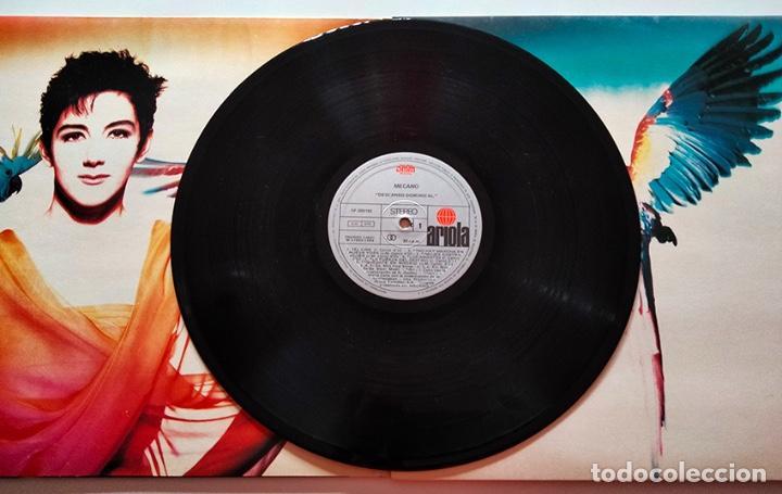 Discos de vinilo: VINILO LP DE MECANO. DESCANSO DOMINICAL. 1988. - Foto 3 - 289203313