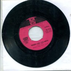 Discos de vinilo: JACKIE TRENT / WHERE ARE YOU NOW / ON THE OTHER SIDE OF THE TRECKS (SINGLE PYE INGLES). Lote 289204993