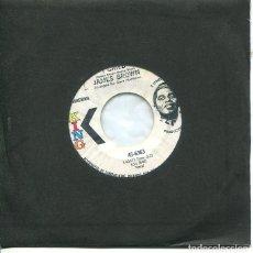 Discos de vinilo: JAMES BROWN / I CRIED / WORLD PT.2 (SINGLE KING PROMO USA). Lote 289206233