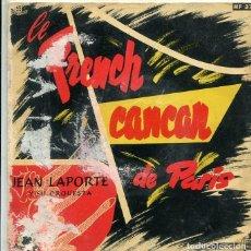 Discos de vinilo: JEAN LAPORTE (LE FRENCH CAN-CAN DE PARIS) SELECCIONES (EP HISPAVOX 1959). Lote 289207613