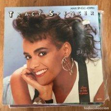 "Discos de vinilo: TRACY SPENCER - LOVE IS LIKE A GAME - 12"" MAXISINGLE CBS 1987. Lote 289213083"