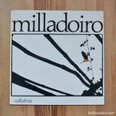 Discos de vinilo: MILLADOIRO SOLFAFRÍA 1985 MUSICA DE GALICIA VINILO LP GALEGA CELTA. Lote 289214538