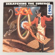 """Discos de vinilo: SAGA. SCRATCHING THE SURFACE. """"ARAÑANDO LA SUPERFICIE"""". Lote 289214553"""