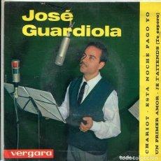Discos de vinilo: JOSE GUARDIOLA / CHARIOT + 3 (EP VERGARA 1964). Lote 289218168