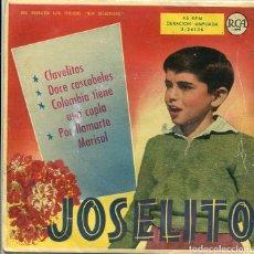 Discos de vinilo: JOSELITO / POR LLAMARTE MARISOL + 3 (EP RCA 1959). Lote 289219238
