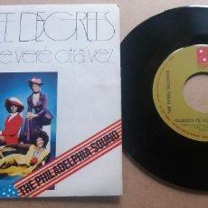 Discos de vinilo: THE THREE DEGREES / CUANDO TE VERE OTRA VEZ / SINGLE 7 INCH. Lote 289221608