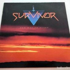 Discos de vinilo: VINILO LP DE SURVIVOR. TOO HOT TO SLEEP. 1988.. Lote 289222693