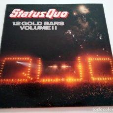 Discos de vinilo: VINILO LP DE STATUS QUO. 12 GOLD BARS - VOLUME II. 1984.. Lote 289228808