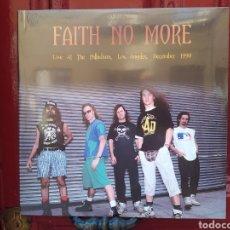 Discos de vinilo: FAITH NO MORE–LIVE AT THE PALLADIUM, LOS ANGELES, DECEMBER 1990. LP VINILO PRECINTADO.. Lote 289230723