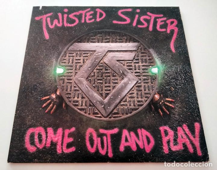 VINILO LP DE TWISTED SISTER. COME OUT AND PLAY. 1985. (Música - Discos - LP Vinilo - Heavy - Metal)