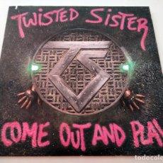 Discos de vinilo: VINILO LP DE TWISTED SISTER. COME OUT AND PLAY. 1985.. Lote 289232723