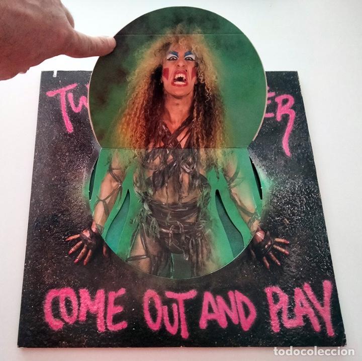 Discos de vinilo: VINILO LP DE TWISTED SISTER. COME OUT AND PLAY. 1985. - Foto 2 - 289232723