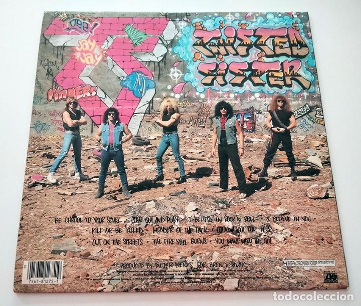 Discos de vinilo: VINILO LP DE TWISTED SISTER. COME OUT AND PLAY. 1985. - Foto 3 - 289232723