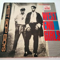 Discos de vinilo: VINILO MAXI-SINGLE DE PET SHOP BOYS. WEST END GIRLS. 1985.. Lote 289234083