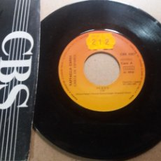 Discos de vinilo: RAFFAELLA CARRA / PEDRO / SINGLE 7 INCH. Lote 289239073