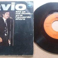 Discos de vinilo: FAVIO / DING DONG DING DONG, ESAS COSAS DEL AMOR / SINGLE 7 INCH. Lote 289240608