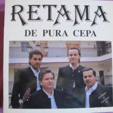 Discos de vinilo: LP SEVILLANAS - RETAMA - DE PURA CEPA (SPAIN, FODS RECORDS 1991). Lote 289253553