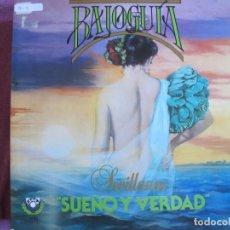 Discos de vinilo: LP SEVILLANAS - BAJO GUIA - SUEÑO Y VERDAD (SPAIN, DISCOS CESAR 1989, PORTADA DOBLE). Lote 289253923