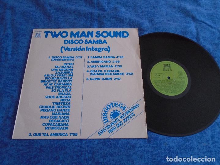 TWO MAN SOUND SPAIN LP 1978 DISCO SAMBA VERSION INTEGRA ELECTRONIC POP LATIN DISCO ORIGINAL REFLEJO (Música - Discos - LP Vinilo - Disco y Dance)