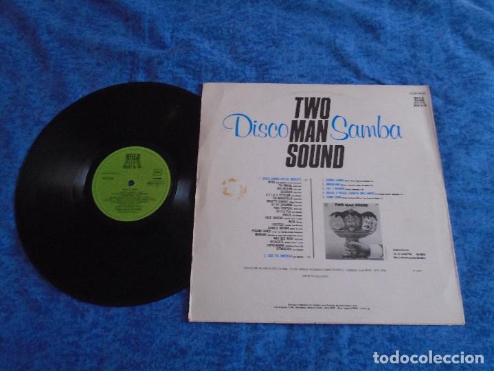 Discos de vinilo: TWO MAN SOUND SPAIN LP 1978 DISCO SAMBA VERSION INTEGRA ELECTRONIC POP LATIN DISCO ORIGINAL REFLEJO - Foto 2 - 289255193