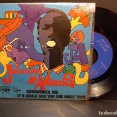 Discos de vinilo: JOHNNY ADAMS RECONSIDER ME SINGLE SPAIN 1969 PDELUXE. Lote 289267188