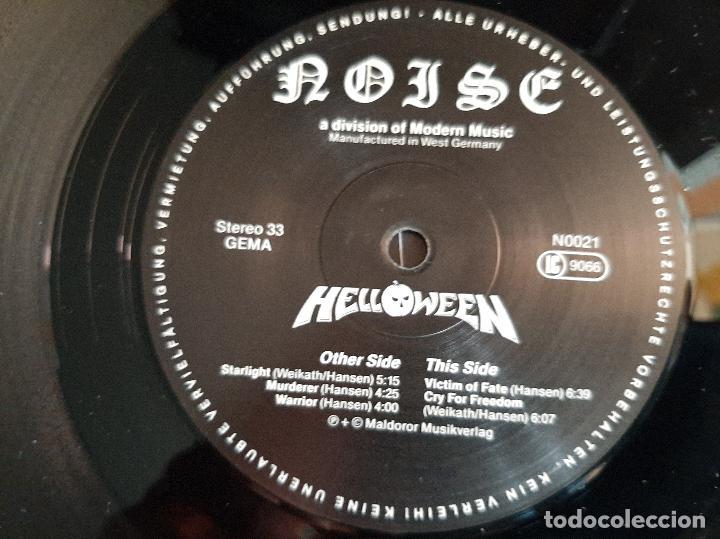 Discos de vinilo: HELLOWEEN -HELLOWEEN- (1988) LP DISCO VINILO - Foto 2 - 289296768