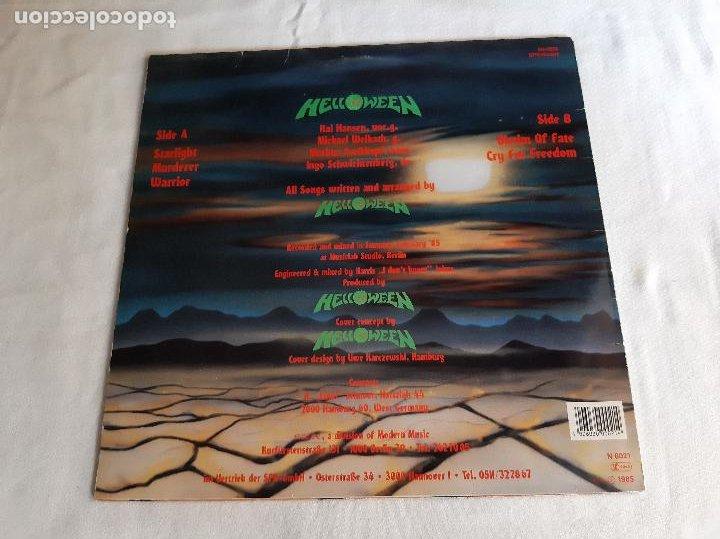 Discos de vinilo: HELLOWEEN -HELLOWEEN- (1988) LP DISCO VINILO - Foto 9 - 289296768
