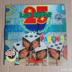 Discos de vinilo: PARCHIS - LOS SUPER 25 DOBLE LP 1979. Lote 289297418