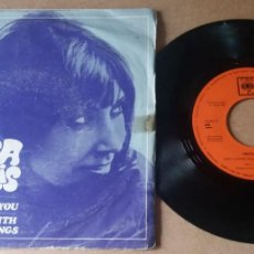 Discos de vinilo: ANITA HARRIS / JUST LOVING YOU / SINGLE 7 INCH. Lote 289301968
