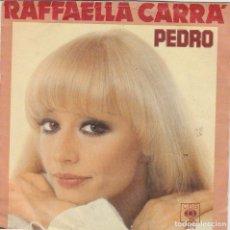 Discos de vinilo: RAFFAELLA CARRA' PEDRO /IO NON VIVO SENZA TE CBS 8579 HOLLAND 1980 VG-VG HOLLAND. Lote 289303643