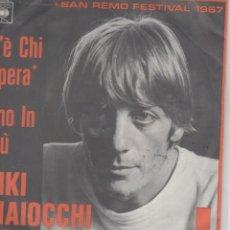 Discos de vinilo: 45 GIRI RICKY MAIOCCHI C'E CHI SPERA /UNO IN PIU' CBS 2570 HOLLAND SANREMO FESTIVAL 1967. Lote 289304428