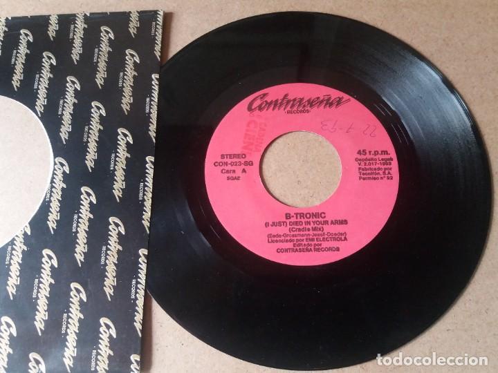 B-TRONIC / (I JUST) DIED IN YOUR ARMS / SINGLE 7 PULGADAS (Música - Discos - Singles Vinilo - Pop - Rock Internacional de los 90 a la actualidad)