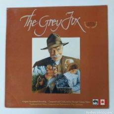 Discos de vinilo: MICHAEL CONWAY BAKER. THE GREY FOX. ORIGINAL SOUNDTRACK RECORDING. THE CHIEFTAINS. LP. TDKDA43. Lote 289309918
