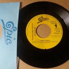 Discos de vinilo: PARTNERS RIME SYNDICATE / C'MON & DANCE / SINGLE 7 PULGADAS. Lote 289310188