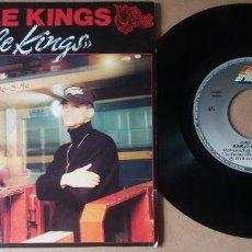 Discos de vinilo: JUNGLE KINGS / JUNGLE KINGS / SINGLE 7 PULGADAS. Lote 289311293