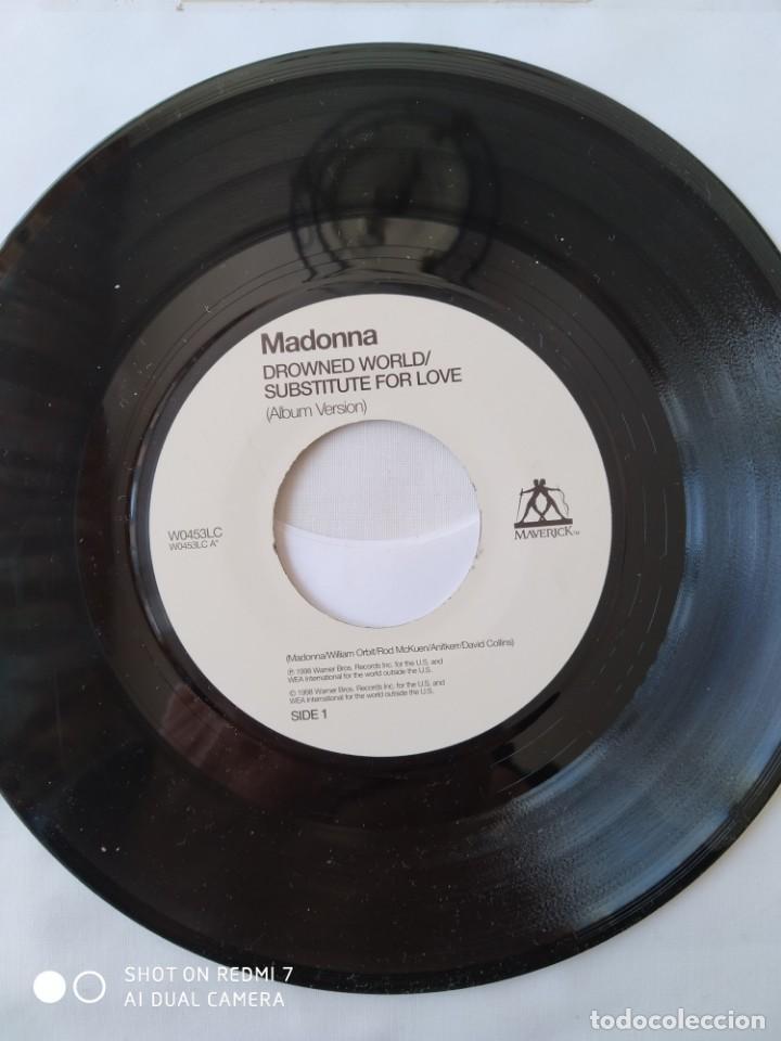 MADONNA DROWNED WORLD, VERSIÓN JUKEBOX REINO UNIDO,W0453LC (Música - Discos - Singles Vinilo - Pop - Rock Internacional de los 90 a la actualidad)
