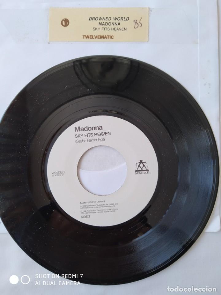Discos de vinilo: Madonna Drowned world, versión jukebox Reino Unido,W0453LC - Foto 2 - 289315383