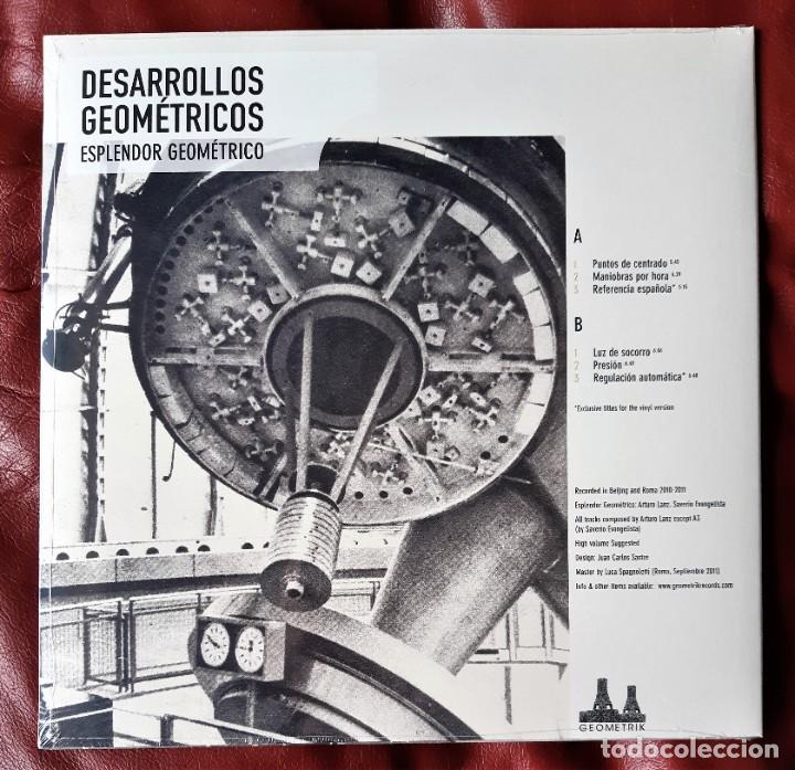 Discos de vinilo: ESPLENDOR GEOMÉTRICO - DESARROLLOS GEOMÉTRICOS LP - Foto 2 - 289318948