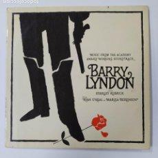 Discos de vinilo: BARRY LINDON. MUSIC FROM THE ACADEMY AWARD WINNING SOUNTRACK. STANLEY KUBRICK. LP. TDKDA43. Lote 289320613