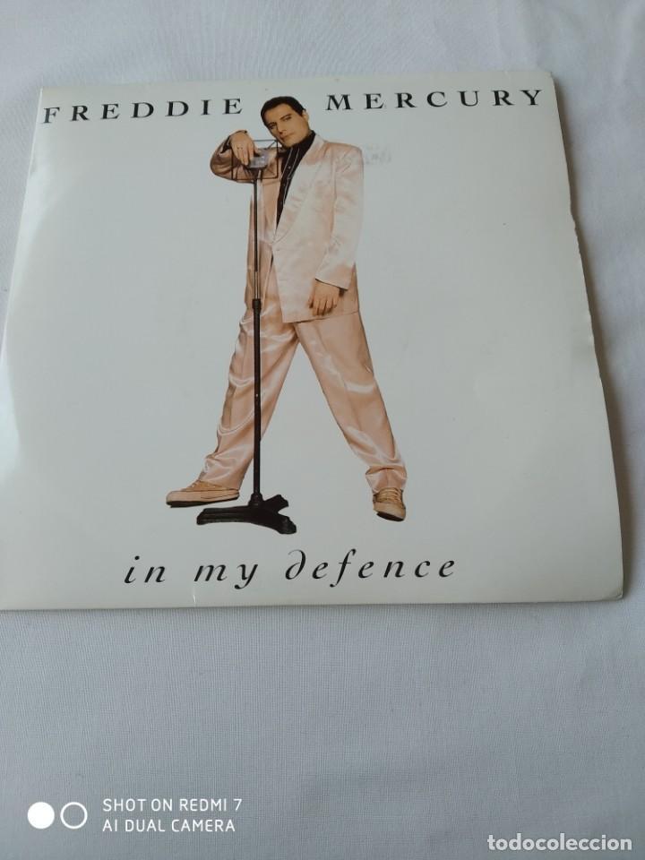 FREDDIE MERCURY,IN MY DEFENCE,DISCO PROMOCIONAL (Música - Discos - Singles Vinilo - Pop - Rock Internacional de los 90 a la actualidad)